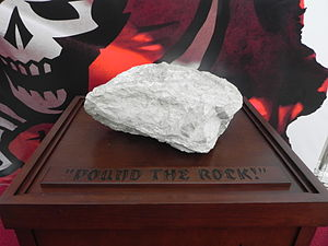 "2002 Tampa Bay Buccaneers season - ""Pound the rock!"" was the slogan of the 2002 team"