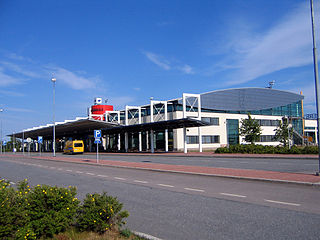 airport in Pirkkala (near Tampere), Finland