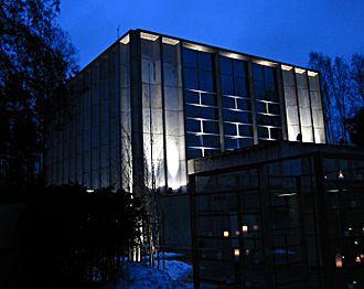 Aarno Ruusuvuori - Image: Tapiolan kirkko talvella