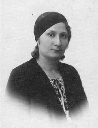1936–1939 Arab revolt in Palestine - Feminist activist Tarab Abdul Hadi, organiser of the Palestinian Arab Women's Association.