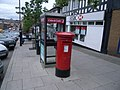 Telephone box outside HSBC, New Elvet - geograph.org.uk - 997741.jpg