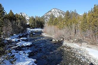 Tenmile Creek (Colorado) - The creek in Frisco, Colorado, just before it empties into Dillon Reservoir.