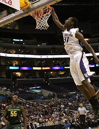 Terrence Ross - Ross dunking for Washington