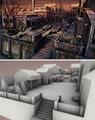 Testament of SH - Sketch & 3D model Opium Den.png