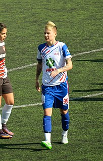 Tetyana Kozyrenko association football player