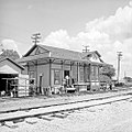 Texas and New Orleans, Southern Pacific, Eakin Street Yard Office, Dallas, Texas (21684512216).jpg