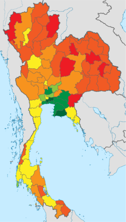 List of Thai provinces by GPP  Wikipedia