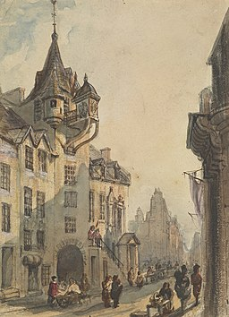 The-canongate-tolbooth-edinburgh-from-the-west