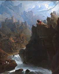 """The Bard"" by John Martin: a romanti..."