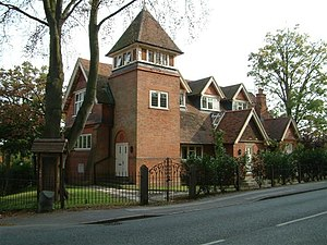 Spencers Wood - Image: The Chapel, Spencers Wood. geograph.org.uk 64413