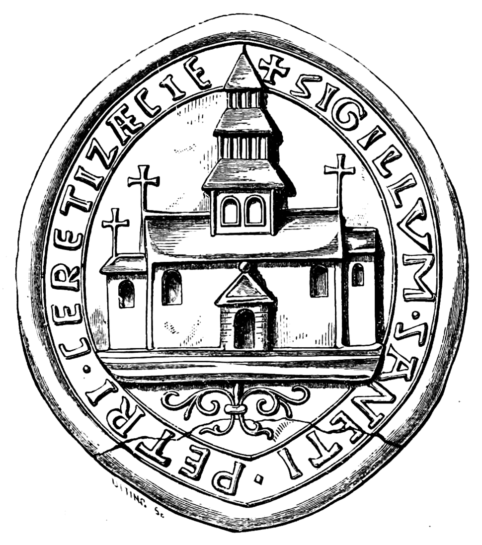 The Conventual Seal, Chertsey Abbey (Surrey Archaeological Collections)