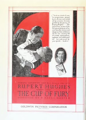 The Cup of Fury (film) - Advertisement