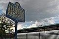 The Grand Battery Historical Marker S Columbus Blvd at US Coast Guard Station Philadelphia PA (DSC 2949).jpg