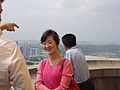 The Juche Tower with Ms Pak (14988889891).jpg