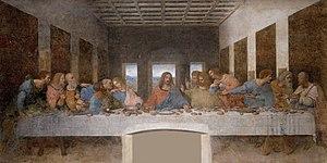 The Last Supper (Leonardo) - Wikipedia Da Vinci Last Supper High Resolution