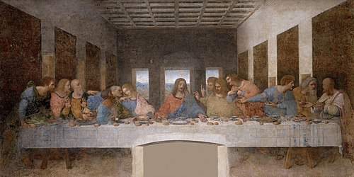 500px The Last Supper   Leonardo Da Vinci