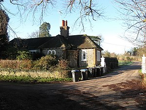 Newtimber - Image: The Lodge, Newtimber Place geograph.org.uk 1639419