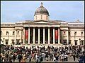 The National Gallery, Trafalgar Square, London. - panoramio.jpg