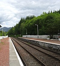 The Oban to Glasgow railway heading east out of Dalmally - geograph.org.uk - 1356479.jpg