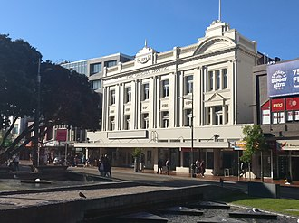 Opera House, Wellington - The Opera House on Manners Street, Wellington.