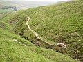 The Pennine Way crossing Blakely Clough, Marsden - geograph.org.uk - 459674.jpg