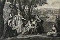 The Phillip Medhurst Picture Torah 287. Finding Moses. Exodus cap 2 vv 5-6. Le Bruin.jpg