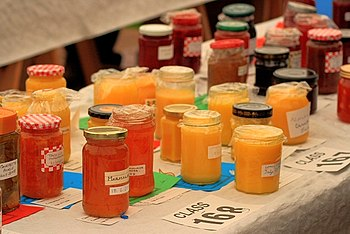 English: The Preserves, Osmotherley Show