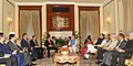 The Prime Minister, Shri Narendra Modi and the Prime Minister of Socialist Republic of Vietnam, Mr. Nguyen Tan Dung, at the One-on-One interaction, in New Delhi on October 28, 2014.jpg