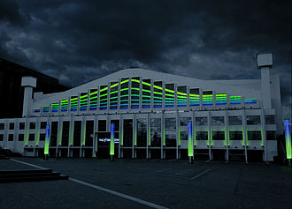 Wembley Arena - The arena in SSE colours