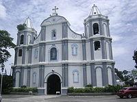 The Santa Catalina de Alejandria Church in Luna, La Union.JPG