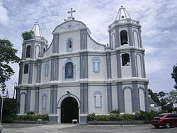 The Santa Catalina de Alejandria Church in Luna, La Union.JPG