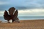 The Scallop -Aldeburgh Beach (22196618105).jpg