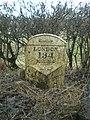 The Shottle milepost - detail - geograph.org.uk - 1703766.jpg
