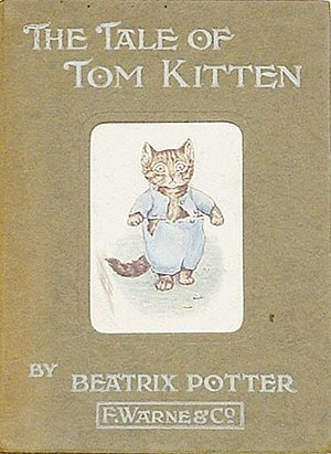 The Tale of Tom Kitten - First edition cover
