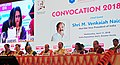 The Vice President, Shri M. Venkaiah Naidu at the Annual Convocation 2018 of the Birla Institute of Management and Technology, in Greater Noida, Uttar Pradesh on April 11, 2018.jpg