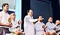 The Vice President, Shri M. Venkaiah Naidu virtually inaugurating the New School Building at Andhra Educational Society School of R.K. Puram from the Founder's Day Celebrations of Andhra Education Society, in New Delhi.JPG