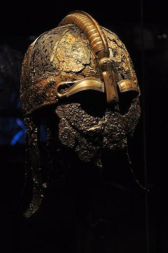 Nordic Museum (Seattle) - Warrior helmet, Valsgärde boat grave 5, 7th century. The Vikings Begin.