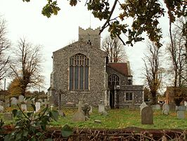 The east end of St. Peter's church, Copdock, Suffolk - geograph.org.uk - 282150.jpg