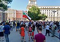 The first day of Bulgarian protests - 9 July 2020.jpg