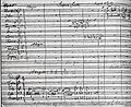 The first page of the autograph score of Dvořák's ninth symphony..jpg
