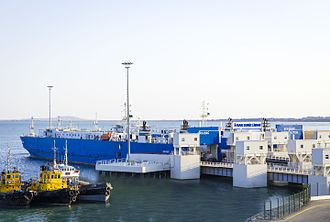 Port of Baku - The new Port of Baku at Alat