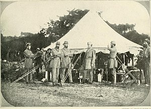 Washington Light Infantry - Garrison duty in Charleston
