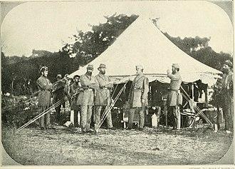 Washington Light Infantry - Garrison duty in Charleston