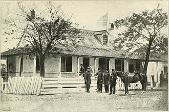 Department of the South - Gen. Gillmore's headquarters at Hilton Head