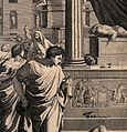 The plague of the Philistines at Ashdod. Engraving by G. Wellcome V0010572.jpg