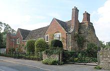 Shandy Hall, das Haus von Sterne in Coxwold, North Yorkshire (Quelle: Wikimedia)