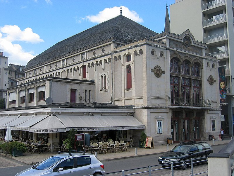 Tulle theatre by Anatole de Baudot