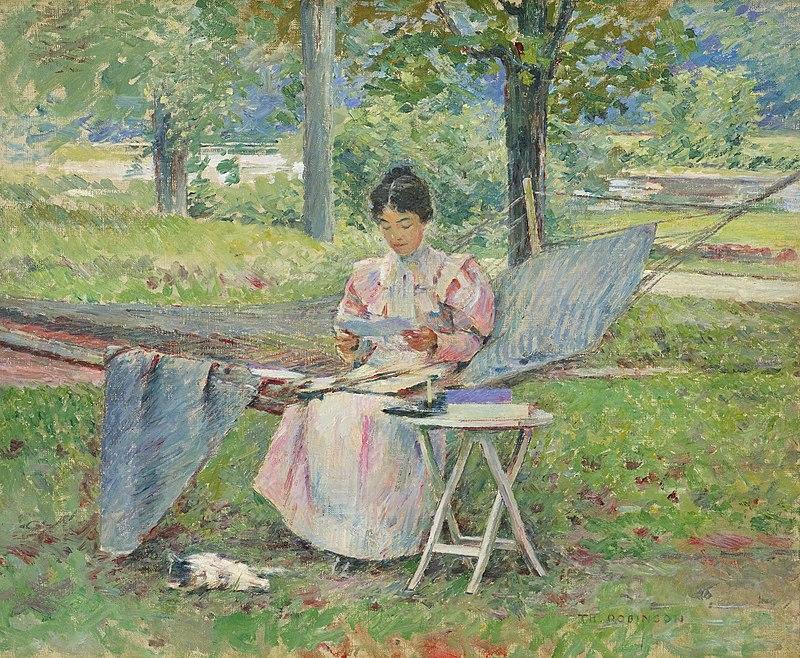 Theodore Robinson - Correspondence (1895).jpg