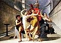 Theseus and Pirithous abducting Elena, Pelagio Palagi (1775-1860).jpg