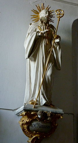 Nonnosus, Heiliger